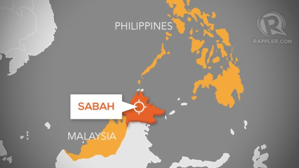 Mapa ng Sabah (courtesy of rappler.com)