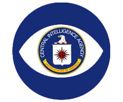 What's with the one-eye symbol, CIA and CBS?