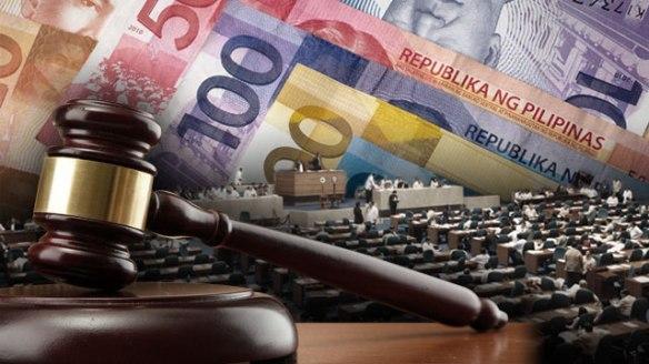 Pork Barrel Scam (hango ang larawang ito sa http://www.rappler.com/newsbreak/34459-admin-solons-linked-pork-barrel-scam)
