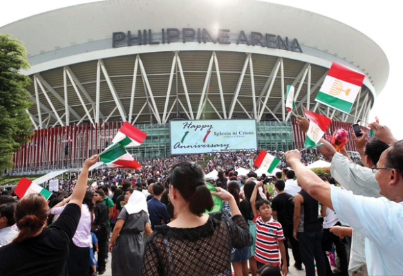 INC Celebration (photo courtesy of Philippine Star)